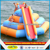 inflatable water floating mat for climbing