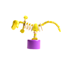 FQ brand wholesale new baby wood interesting toys kid interesting educational game walking with walking with wooden dinosaurs