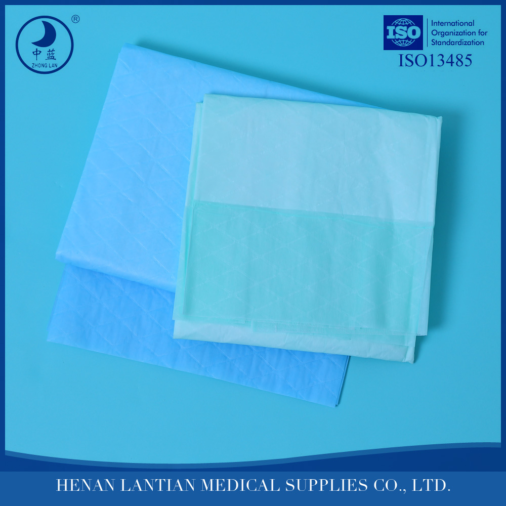 Hospital disposable medical consumables incontinence pad adult underpad 60x90