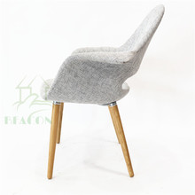 Reproduction Style Saarinen Organic dining Chair for restaurant