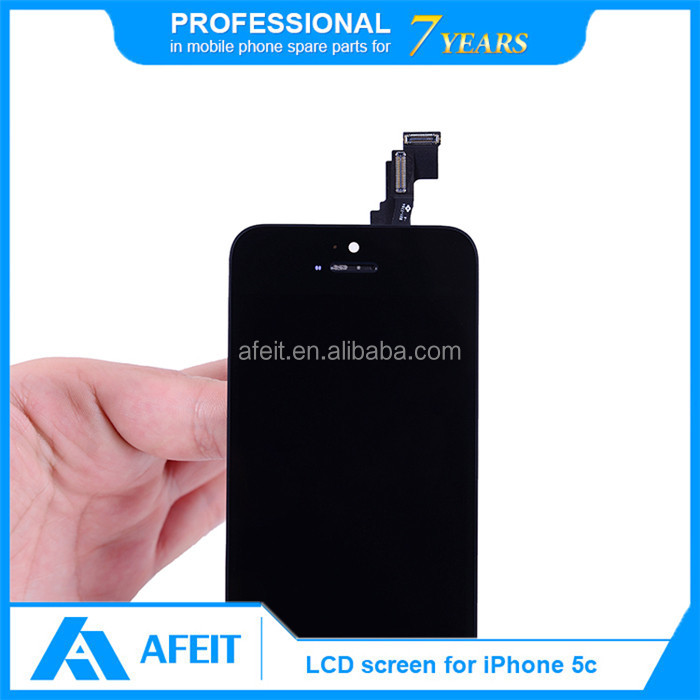 LCD digitizer with touch screen for iPhone 5c & for iPhone 5c display complete assembly