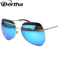 Big Eye Sunglasses 853 Ice Blue