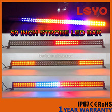 2015 new products led bar truck for sale 50'' led light bulbs for offroad 288w curved car strobe light