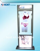 New Invention ! magnetic levitation led display rack for underwear, hot girls bra and panties