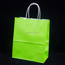 china wholesale low price custom pantone color printing kraft paper shopping bag