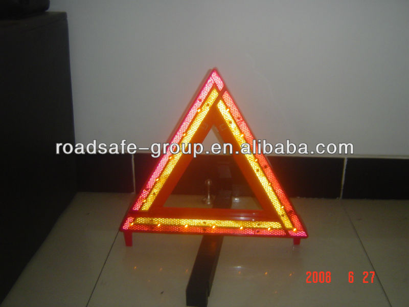 Hotsale Red Warning Triangle Road Safety Caution Sign