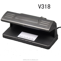 V318 Counterfeit Money Checking Machine With 4W UV Light White Light Detection 180*100*90mm 220/110V