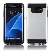 C&T Tough Brushed Hybrid Armor Rubber TPU Drop Protective Case For Samsung Galaxy S7 Edge/G935