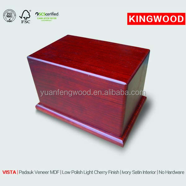 VISTA biodegradable urns wooden urns for ashes China supplier