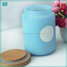 FengJun wedding favors paraffin wax candle jars with cork lids