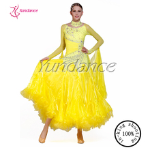 B-1397 guangzhou ballroom dance wear custom made