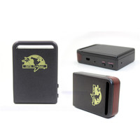 GPS tracking device tk02 tk102 anti-lost geo fence alarm cheap mini sim card vehicle gps tracker for car