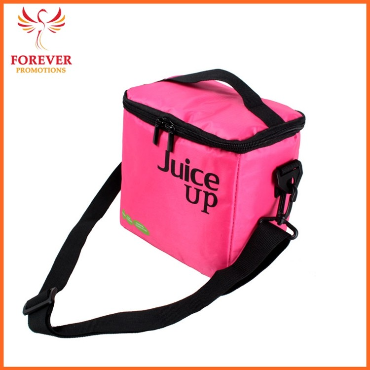 Cheap Lunch Bag 420D Nylon Custom Logo 18*18.5*13cm Lunch Box Promotional Gifts Chinese Supplier