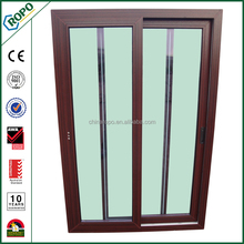 Storm proof PVC sliding windows with fly screen