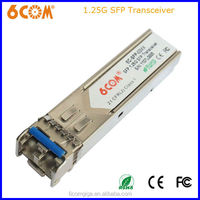 SFP transceiver 80km reach compatible with 1.25G dwdm mux