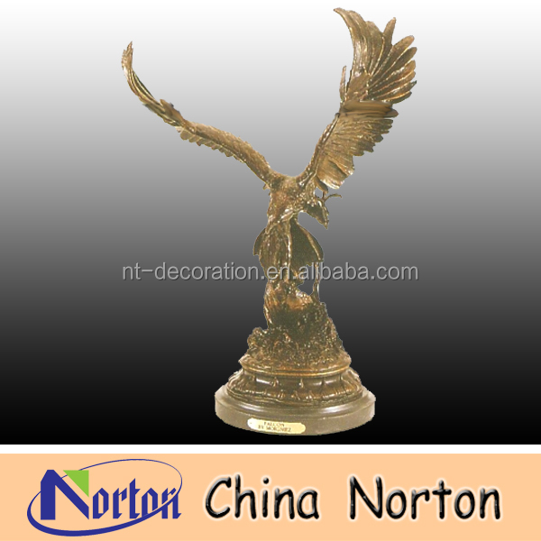 spread the wings Bronze animal eagle sculptures NTBH-D070