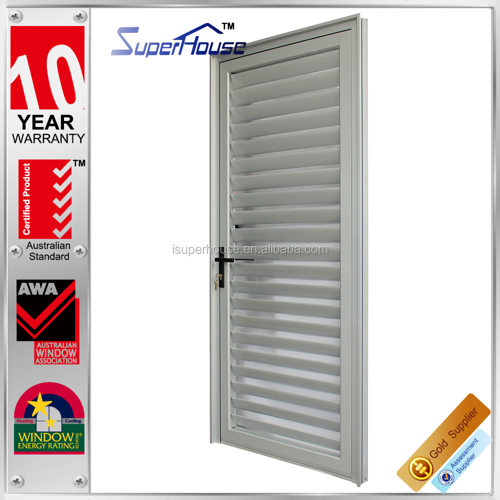 ventilate Residential House modern design exterior door shutters,used building materials outdoor shutter