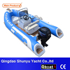 qboat fiberglass hull Inflatable Fishing Racing boat