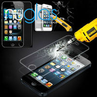 unique cell phone accessories ,Nuglas tempered glass screen protector for iPhone 5/5C/5S