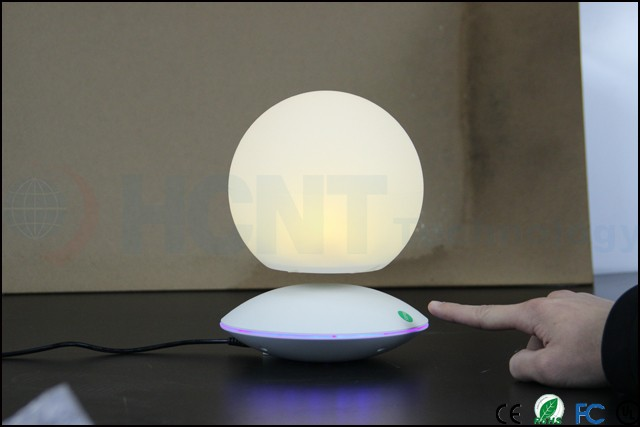 ABS Material and Touch Switch Power Levitating LED Night Lights for indoor lighting