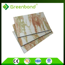Greenbond natural marble stone bubble wall water panel