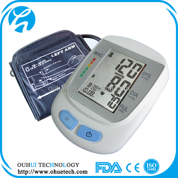 Shock Price Of Household Automatic LCD Digital Sphygmomanometer