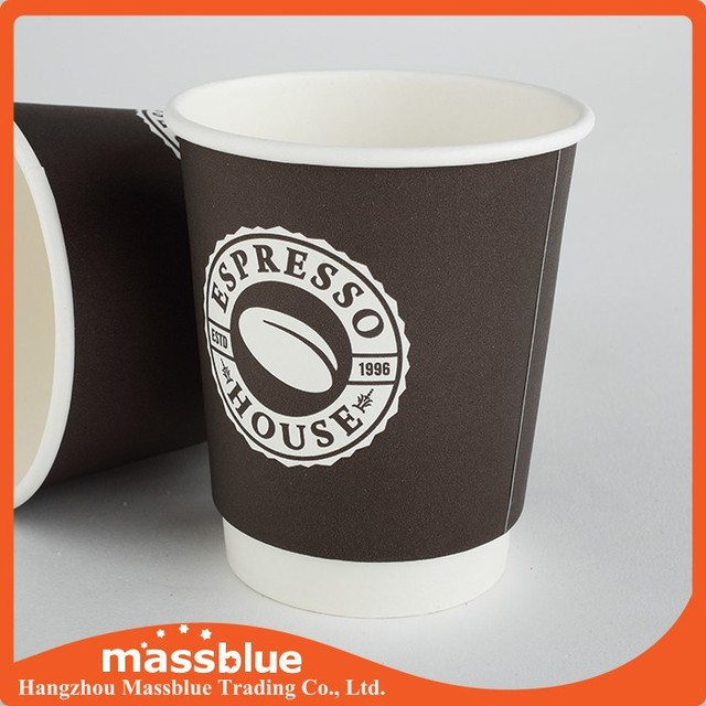 biodegradable PLA paper cups for hot drink