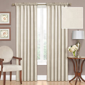 Factory Directly Supply Custom Retro Solid Blackout Curtain