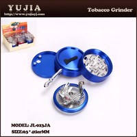 Diaphanous Smoking Accessories Scrap Novelty Metal Manual Grinders JL-023JA