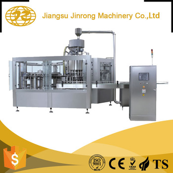 Professional manufacturer water bottle small carbonated drink filling machine