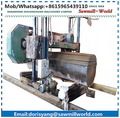 wide sawmill for large logs, portable band saw