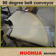 90 degree curved conveyor belt