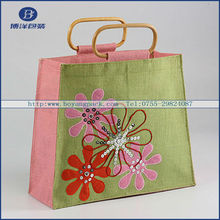 inviting gift jute bags wedding
