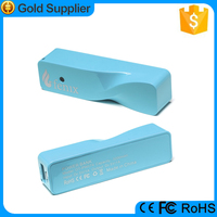 Hot Emergency 2600mah portable powerbank cell phone charger