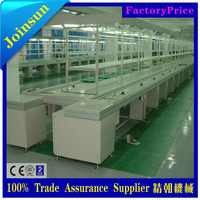 electrical assembly line equipment with working tables
