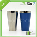 Beverage Mug 16oz Powder Vacuum Coffee Insulated Beer Tumbler