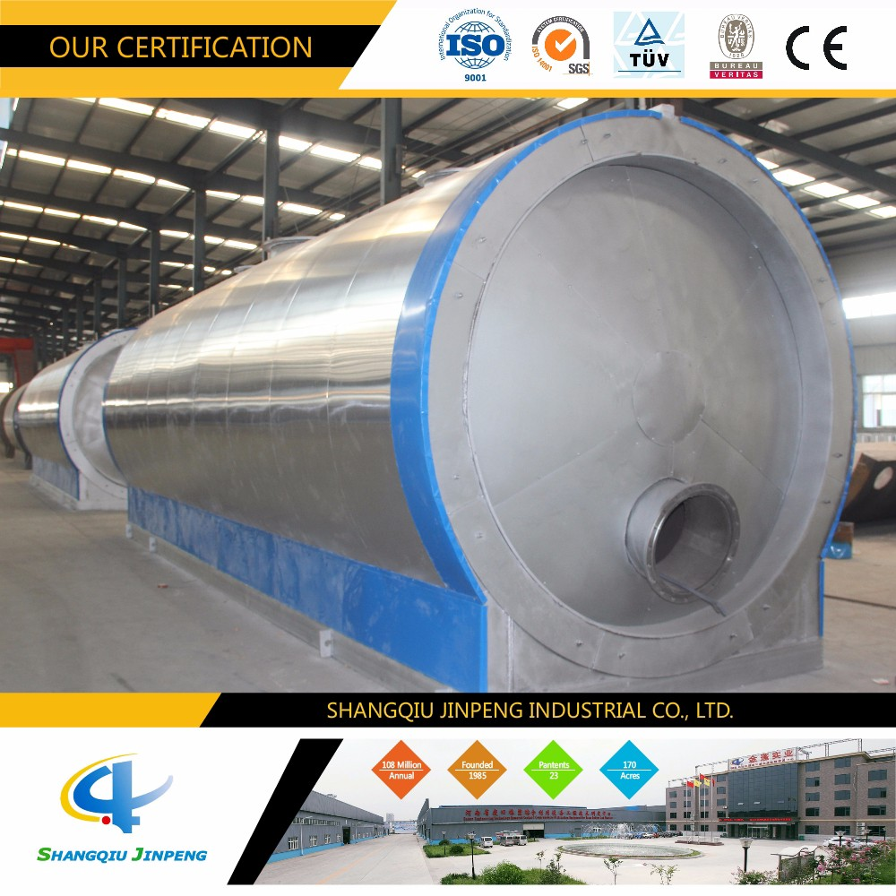High Quality No Pollution Waste Engine Oil to Base Oil Distillation Equipment