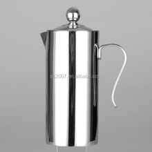 Original 304 stainless steel, Multi-sized French style stainless steel teapot with spout
