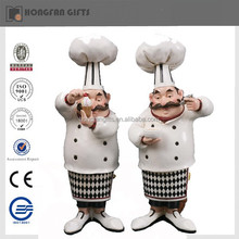 funny resin chef figurine for sale
