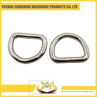Triangle small bags welded d ring snap hook 3.0 L38*20mm