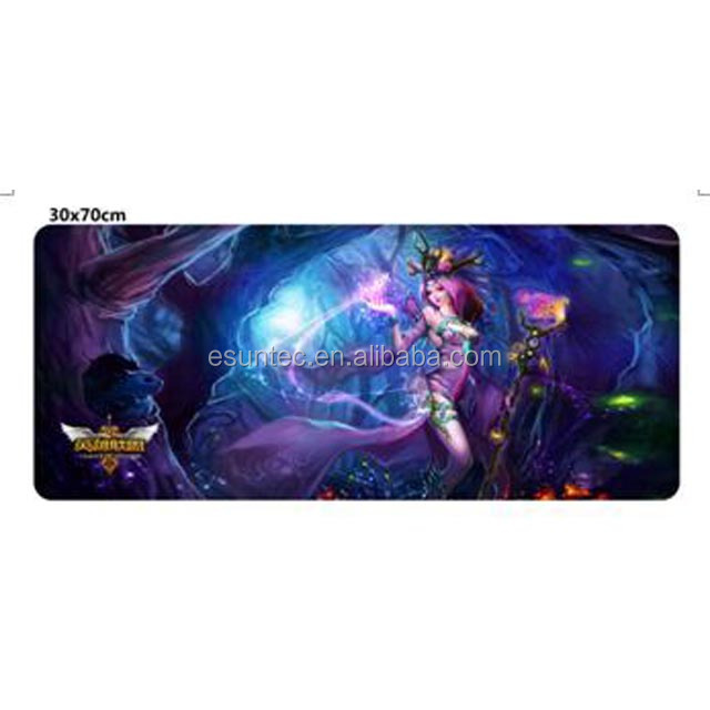 Custom Rubber Large Size Esport Game mouse mat customised gaming mouse pad GMP-004