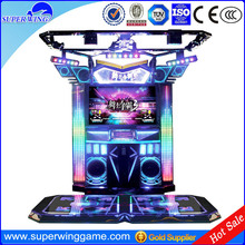 Superwing coin operated simulator dancing music game machine