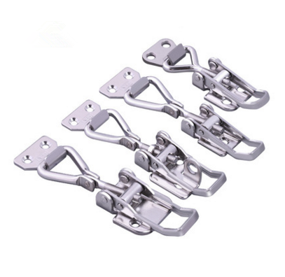 OEM ODM custom Stainless Steel stamping adjustable Toggle spring Latches draw latch <strong>hardware</strong>
