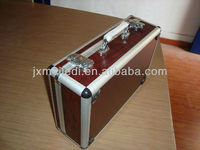 Aluminum tool storage wooden case for tools brief case MLDGJ141