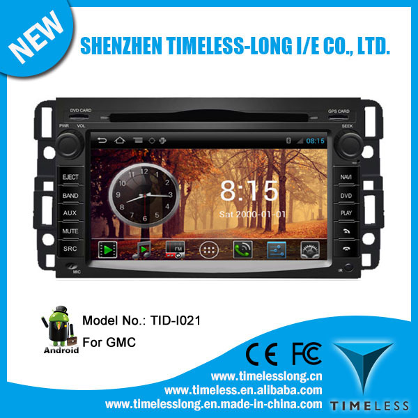 Android system Car GPS Navigation for Buick Enclave with GPS Ipod DVR digital TV box BT Radio 3G/Wifi(TID-I021)