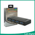 Multi-functional 4 ports usb 3.0 hub for PS4/PS3/XBOXONE/XBOX360/WIIU/PC