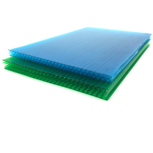 10-year warranty pc sheet/polycarbonate hollow sheet honeycomb\cellular polycarbonate board