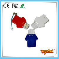 High-tech 2 gig usb clothes shape flash drive made in china