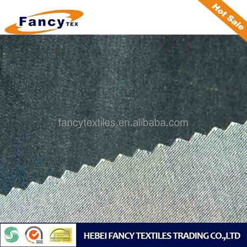 stocklot combed cotton indigo twill weaving denim for shirt