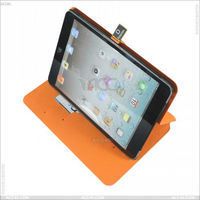 english amazon hot sell Flip Stand with Elastic Hand Strap and Premium Nubuck Fibre Interior (Black) P-iPDMINICASE106